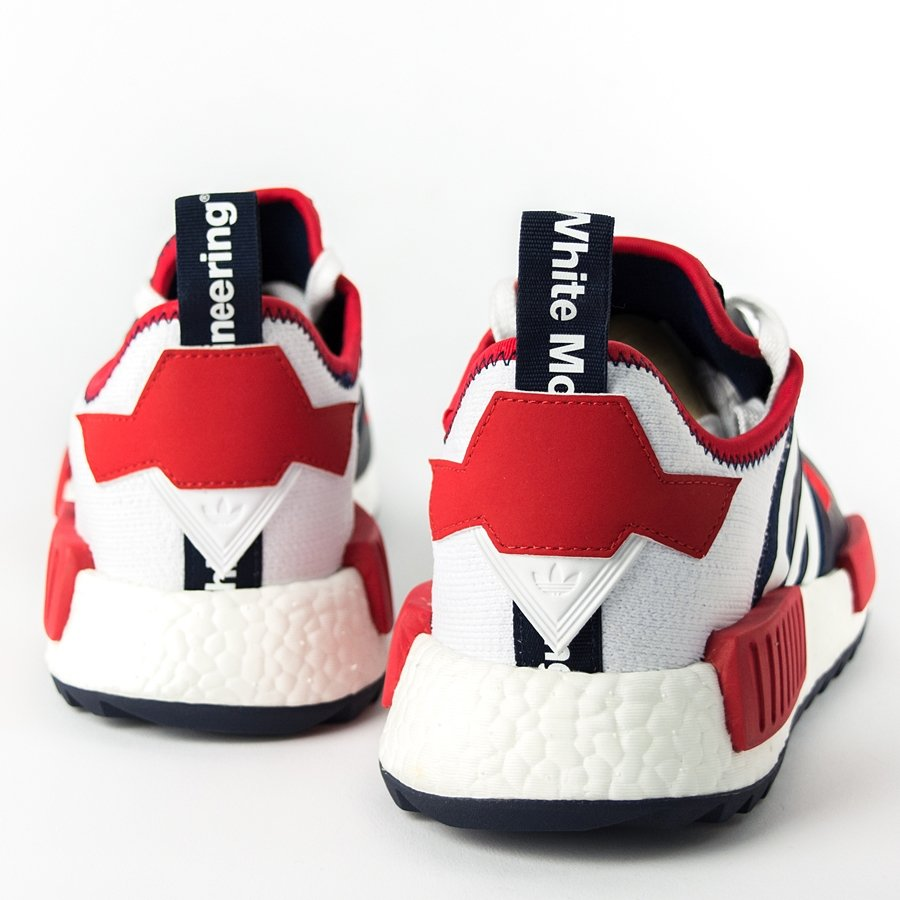 timeless design ae549 0da37 ... Click to zoom ... Adidas White Mountaineering NMD Trail in navy BA7519  ADIDAS NMD WM Trail PK White Blue Red Size ...