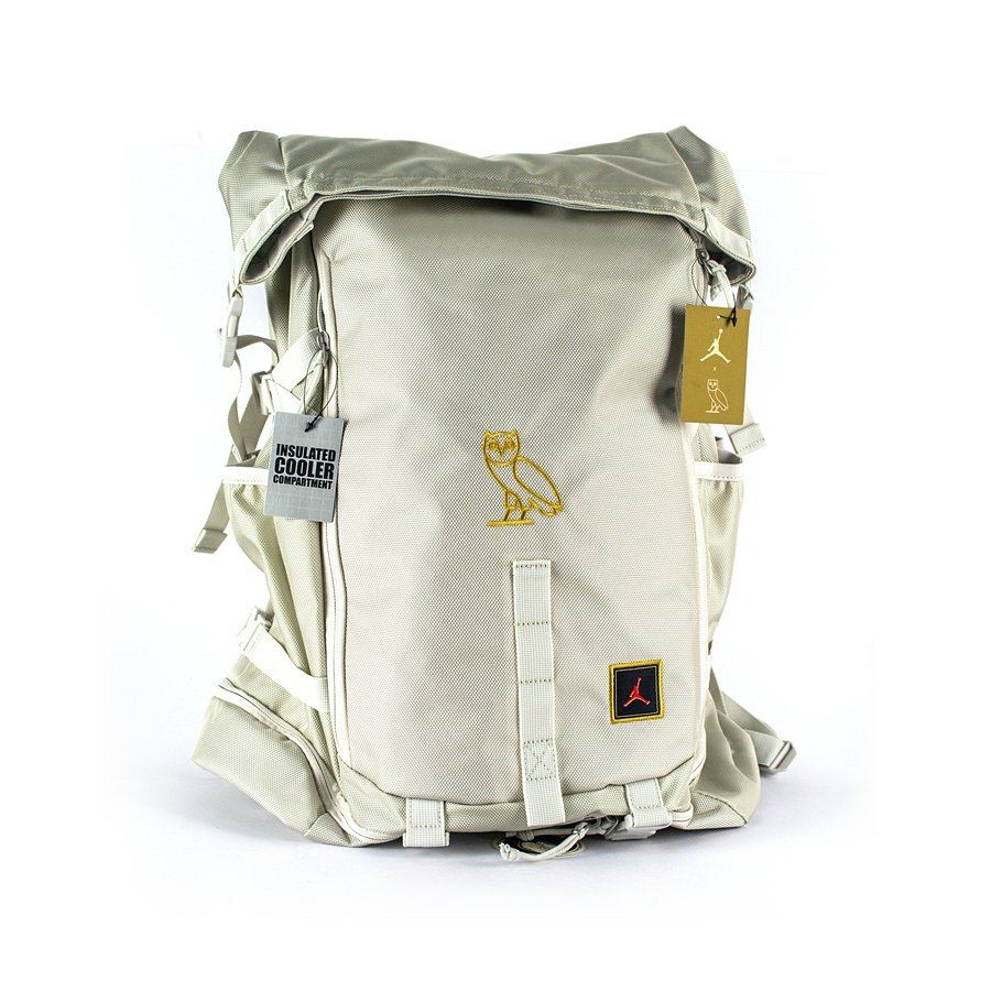 Air Jordan OVO Top Loader Backpack Black / Gold (BA8068-072) TM ...