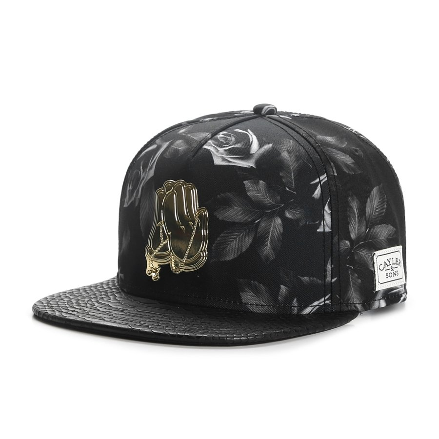 cayler and sons snapback amen black gold caps. Black Bedroom Furniture Sets. Home Design Ideas
