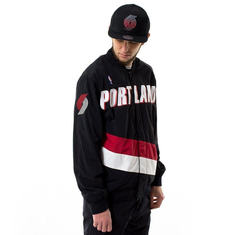 Portland Blkazer: Mitchell And Ness Authentic Warmjacket NBA Warm Up