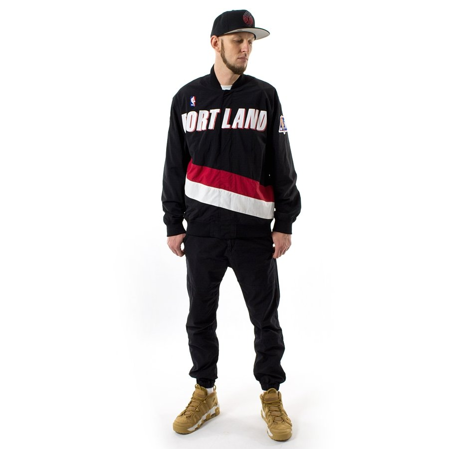 Portland Blazers Roster 2012: Mitchell And Ness Authentic Warmjacket NBA Warm Up