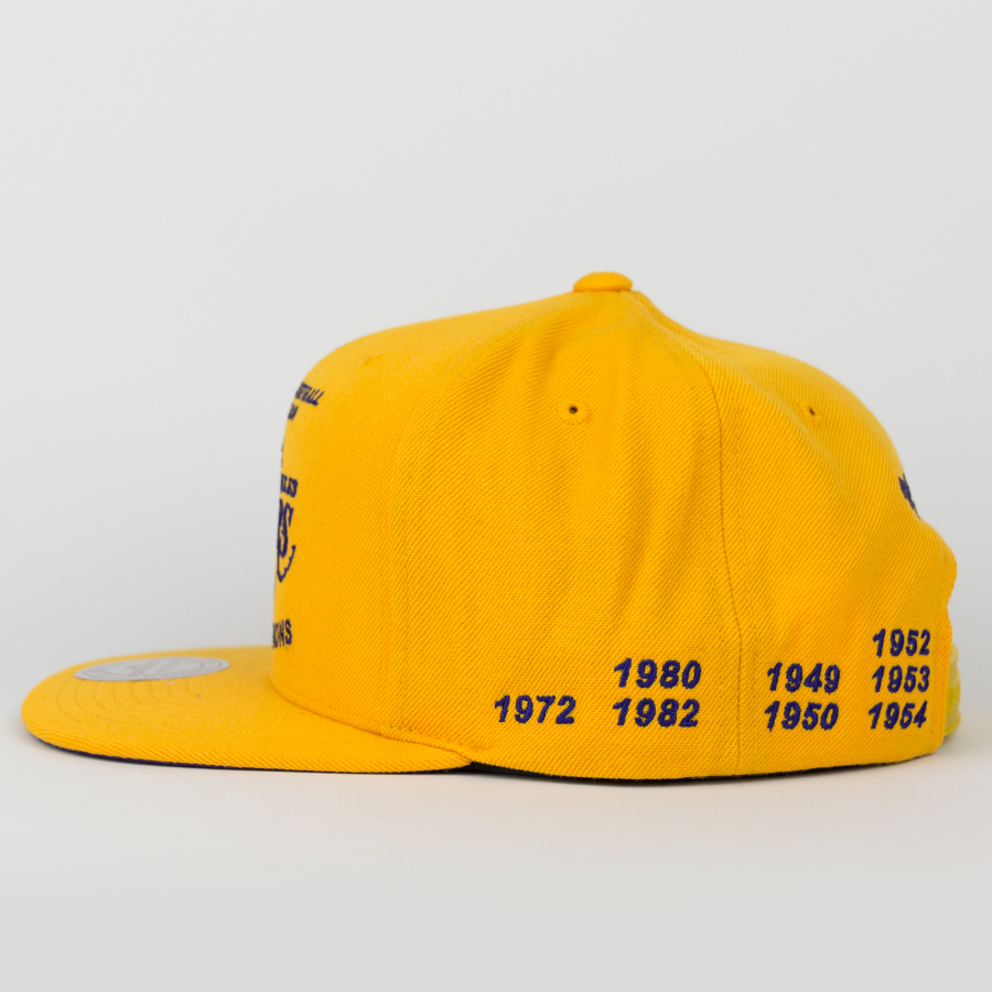 mitchell and ness snapback los angeles lakers championship. Black Bedroom Furniture Sets. Home Design Ideas