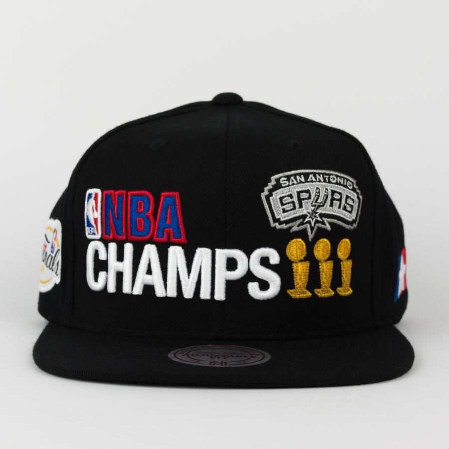 San Antonio Spurs Nba: Mitchell And Ness Snapback San Antonio Spurs Championship