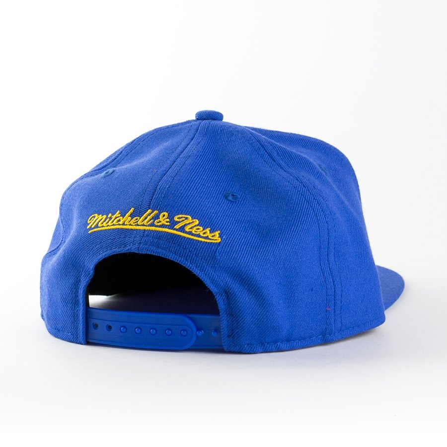 mitchell and ness snapback wool solid denver nuggets blue. Black Bedroom Furniture Sets. Home Design Ideas