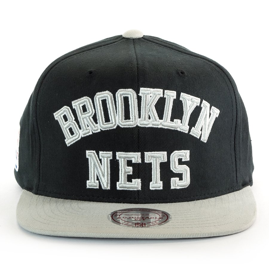 Mitchell And Ness Snapback Wordmark Jersey Hook Brooklyn