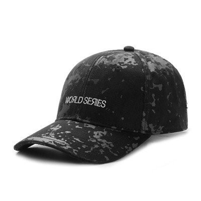 Czapka Cayler and Sons BL curved cap Series black camo / white