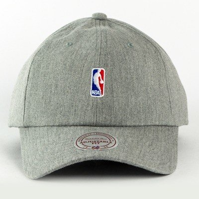 Czapka Mitchell and Ness strapback NBA Logo Low Pro grey