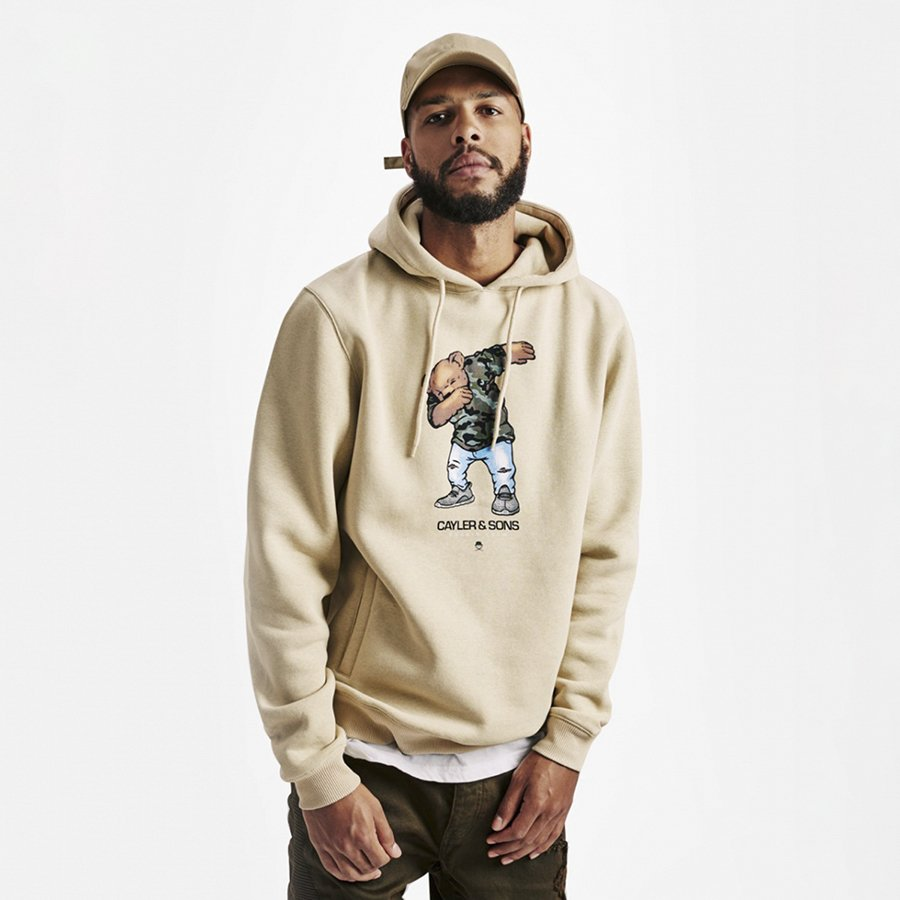 Bluza Cayler and Sons Dabbin' Crew Hoody sand / multicolor ...