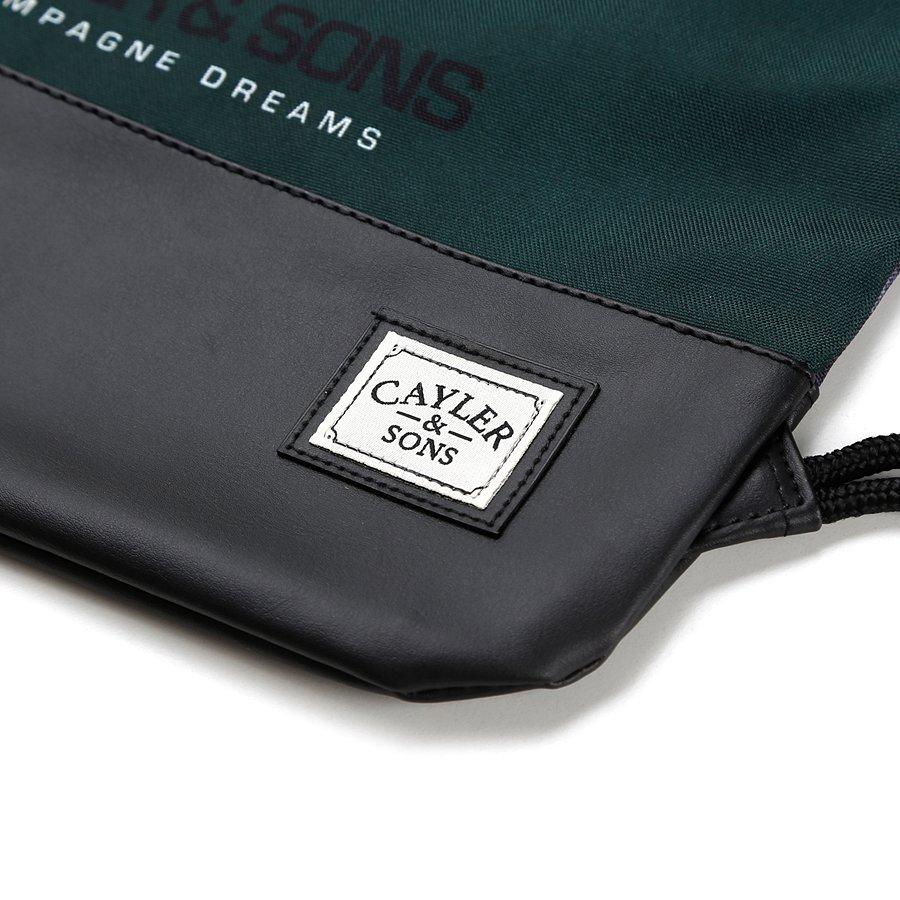 worek cayler and sons gymbag wl chmpgn drms green black mc brands cayler and sons. Black Bedroom Furniture Sets. Home Design Ideas