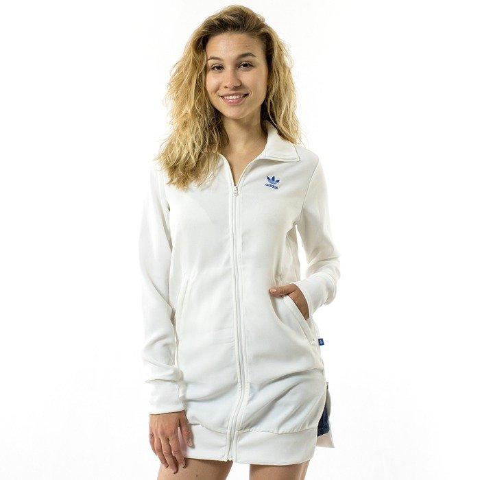 Bluza Adidas Originals Long Track Top Jacket white (BK5983) 40