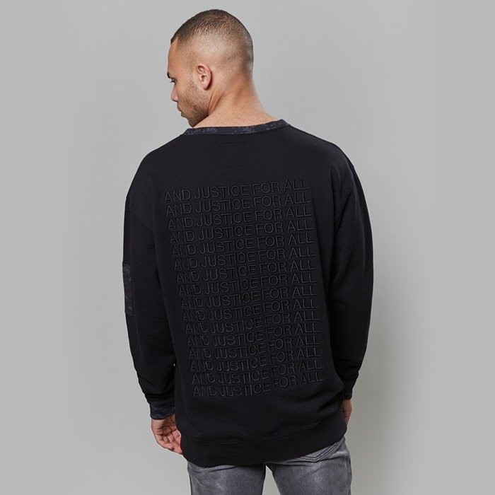Bluza Cayler and Sons BLACK LABEL crewneck CSBL For All black