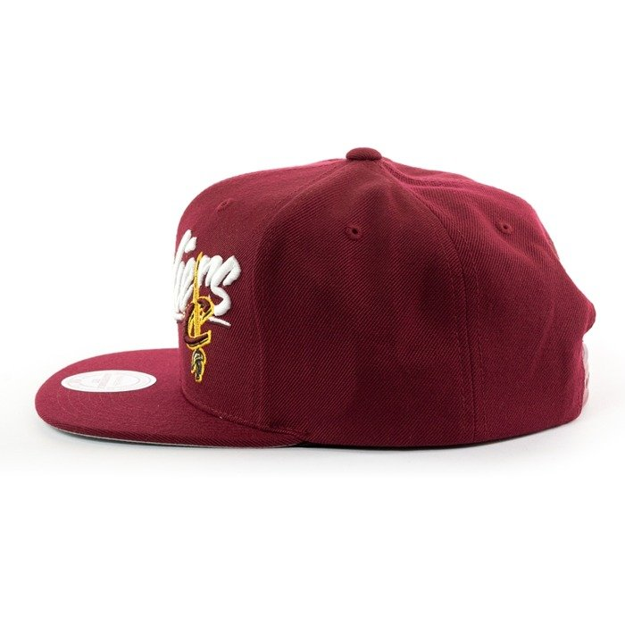 Czapka Mitchell and Ness snapback Vice Script Solid Cleveland Cavaliers burgundy