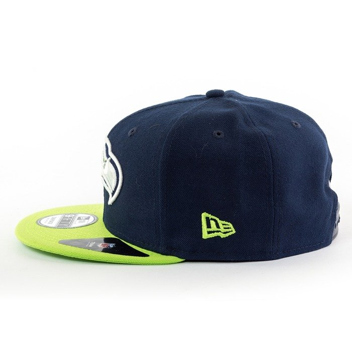 Czapka New Era snapback Seattle Seahawks NFL Team 9fifty navy
