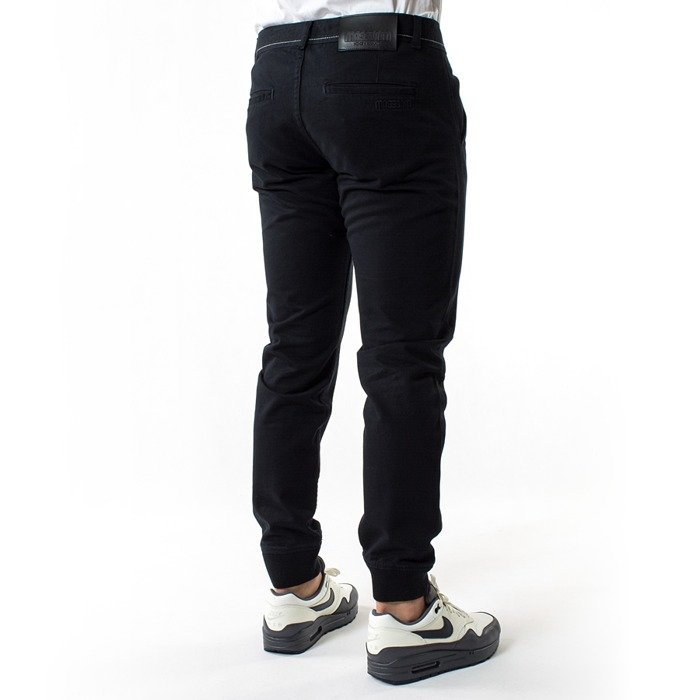 Spodnie Mass Denim Joggers Chino Classics Sneaker Fit black