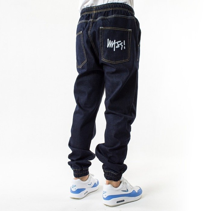 Spodnie Mass Denim Joggers Signature Sneaker Fit rinse