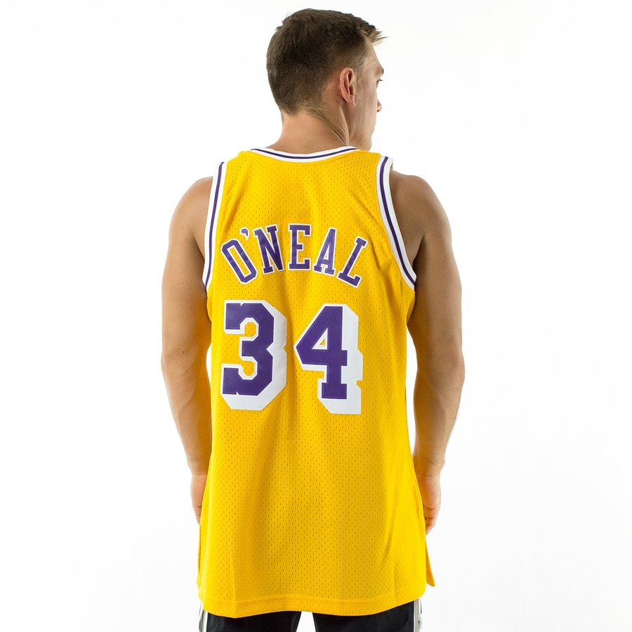 Mitchell and Ness Swingman Jersey HWC Los Angeles Lakers Shaquille O  Neal  1996-97 Click to zoom ... f14f8bef7