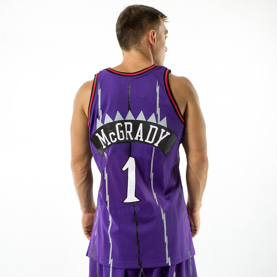Mitchell and Ness Swingman Jersey HWC Toronto Raptors Tracy McGrady black  Click to zoom ... 4e7f87cfa