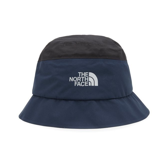 5a8d00942321b The North Face bucket hat Goretex tnf black / urban navy | Caps ...