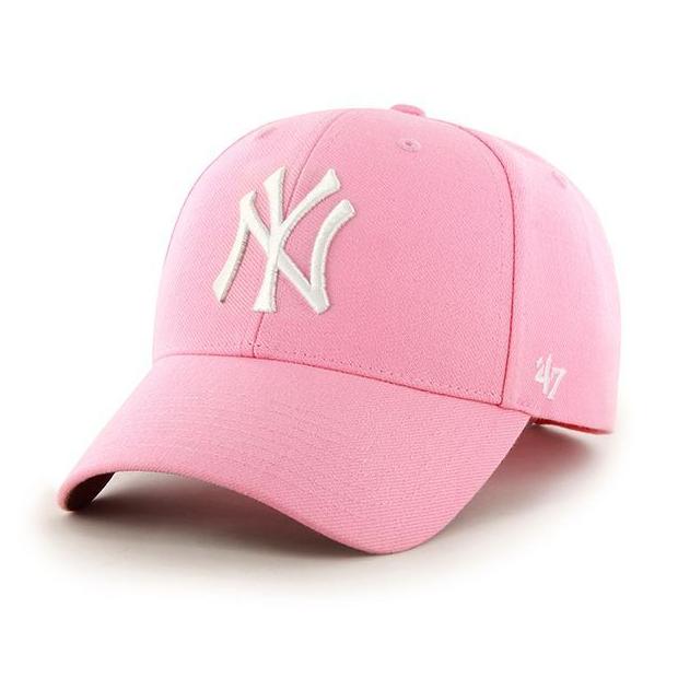 promo code acd8a 2840c 47 brand dad hat snapback MVP New York Yankees light pink Light Pink   Caps    Snapbacks Caps   Dad Cap  Women   Caps  Men   Caps Brand   47 Brand    MATSHOP.
