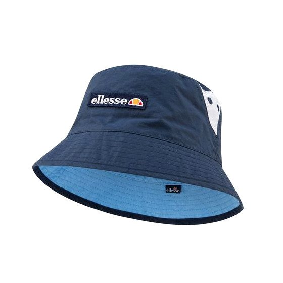 db7db5fade1 Ellesse Carlo Reversible Bucket Hat navy   light blue