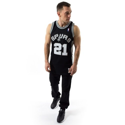 c1e13f976 ... Mitchell and Ness Swingman Jersey HWC San Antonio Spurs Tim Duncan  black Click to zoom. 1
