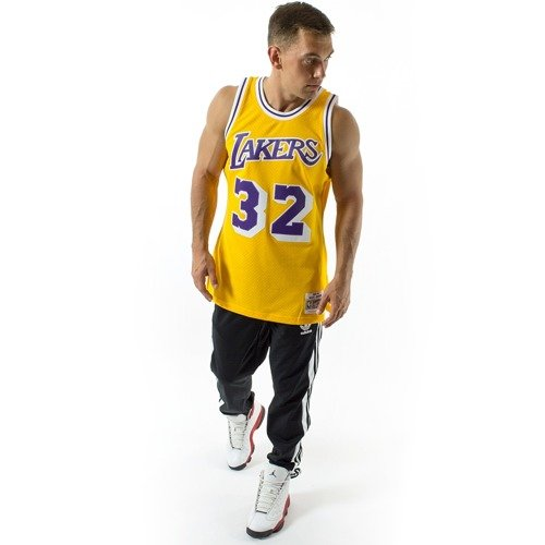 ... Mitchell and Ness Swingman Jersey HWC Los Angeles Lakers Magic Johnson  1984-85 yellow Click to zoom. 1 3e0ff9165