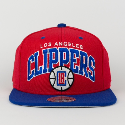 more photos 2aabe a9d2f Mitchell   Ness snapback Team Arch Los Angeles Clippers red   blue