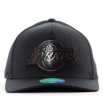 new concept 37e51 8fef4 Mitchell and Ness Mitchell and Ness snapback Zig Zag Trucker Los Angeles  Lakers black