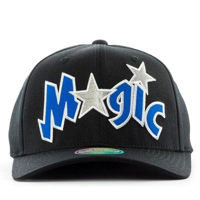 separation shoes 41ac1 18ab2 Mitchell and Ness snapback Jersey Logo Orlando Magic black