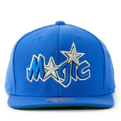 check out 3194c dfeee Mitchell and Ness snapback Wool Solid Orlando Magic blue