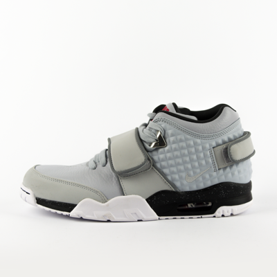 Nike Air Trainer Victor Cruz Wolf Grey / Metallic Silver - Black Bright  Crimson (777535