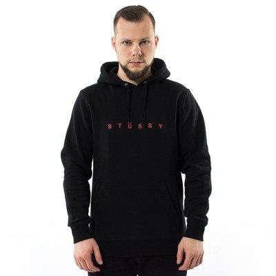 buty na tanie wielka wyprzedaż Nowe zdjęcia Stussy sweatshirt hoody WMNS Basic Stussy FW17 black Black ...