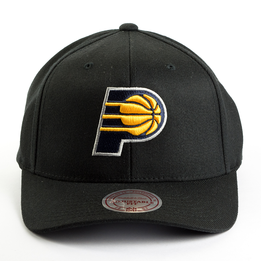 b0ab2a31fd1 Mitchell and Ness snapback Team Logo High Crown Flexfit Indiana Pacers  black Click to zoom ...