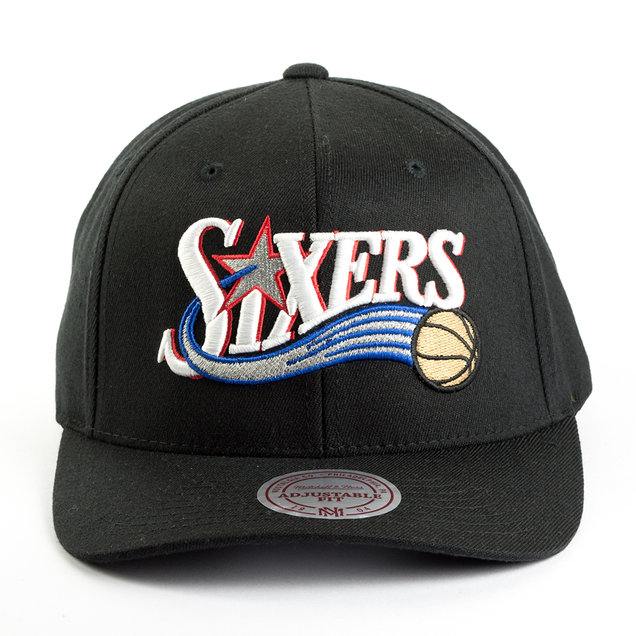 e408a59dcd0 ... snapback Team Logo High Crown Flexfit Philadelphia 76ers black Click to  zoom ...