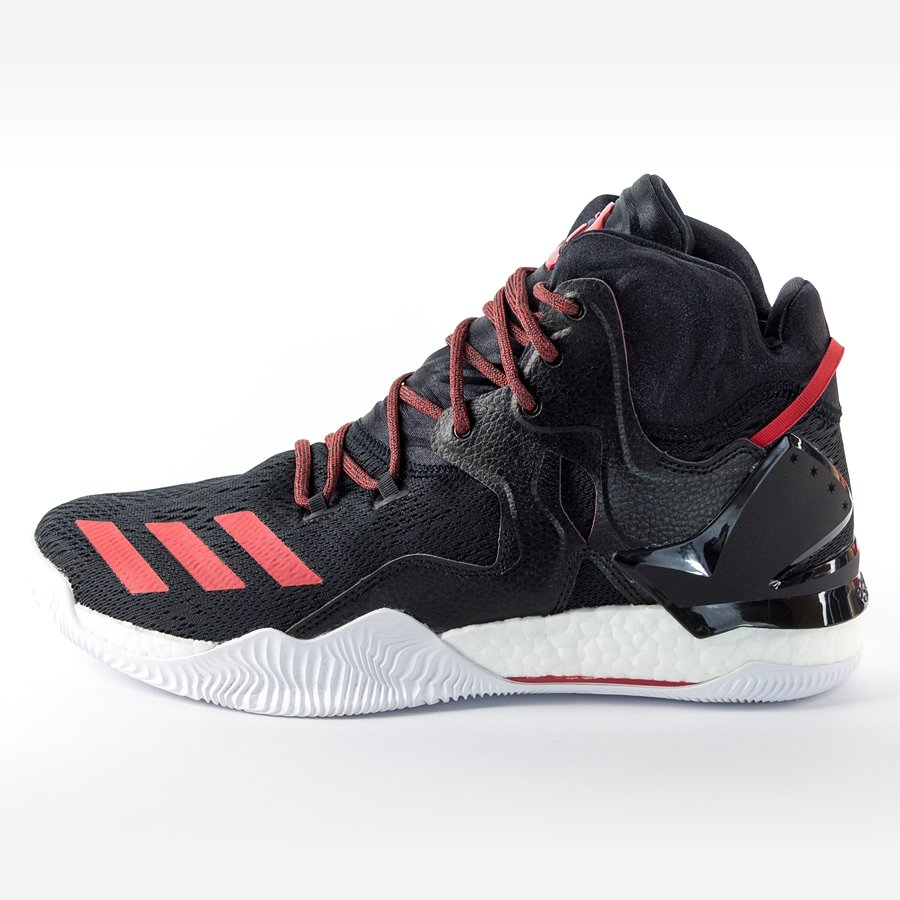 e55f88c431b4 Adidas D Rose 7 black   scarlet   core black (B54133) Click to zoom ...