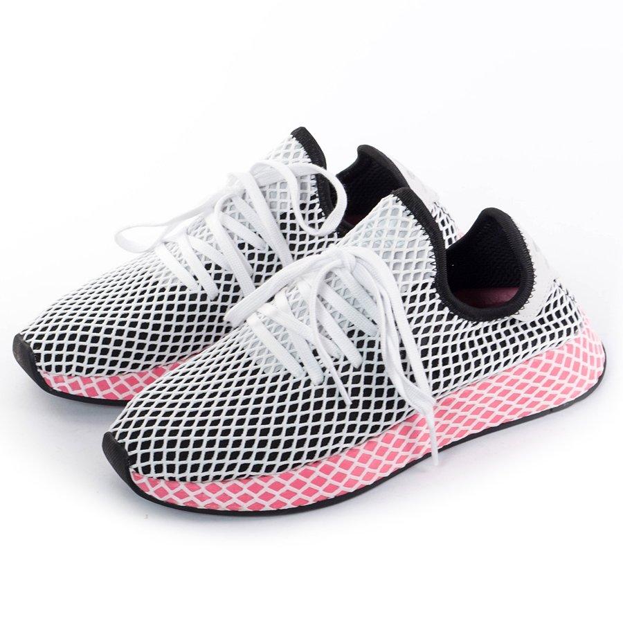 adidas deerupt core black chalk pink