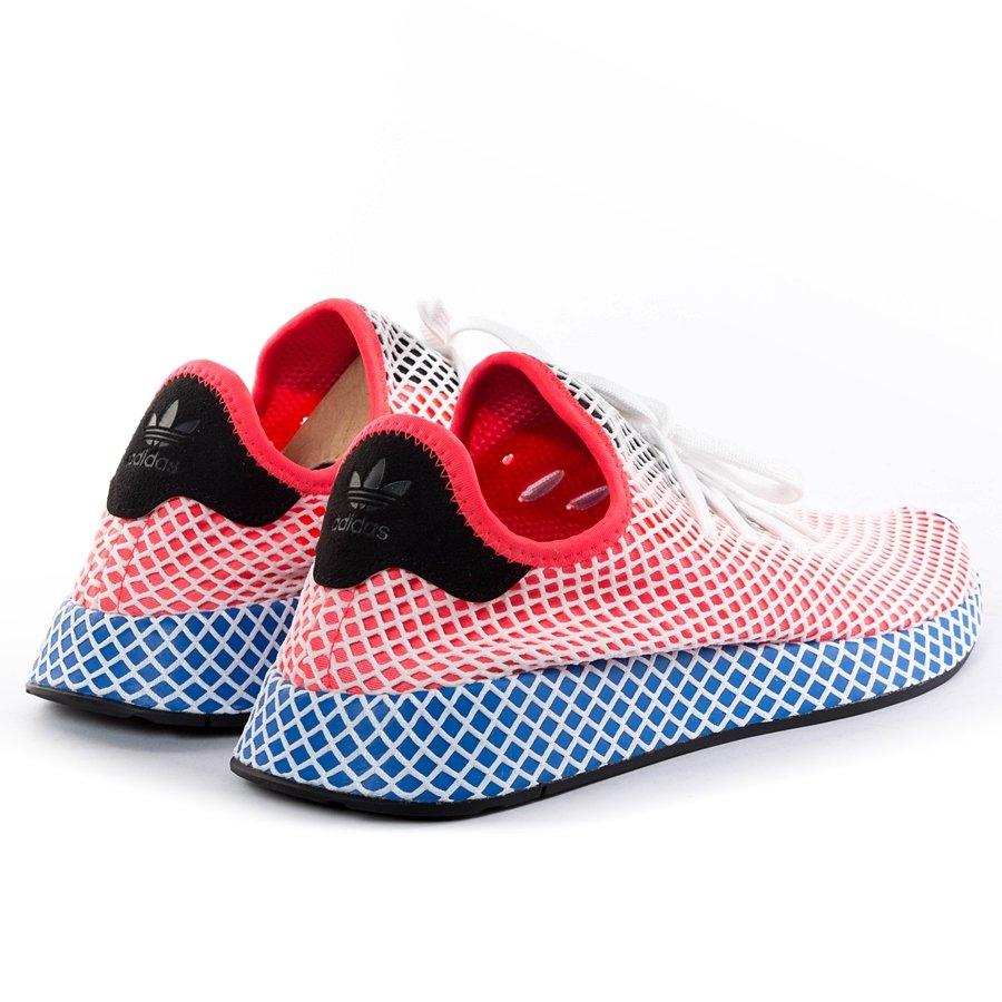 b37915437d013 ... Adidas Originals Deerupt Runner solar red / solar red / bluebird  (CQ2624) 40 Click to zoom ...