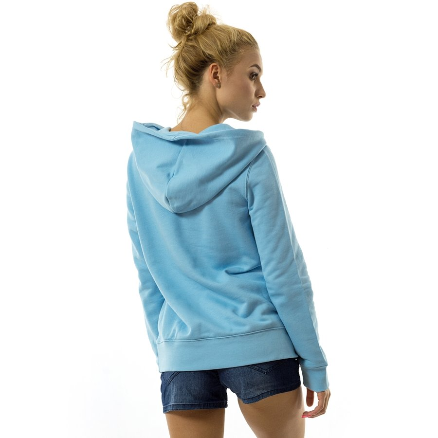 adidas Originals Womens Trefoil Hoodie Large DH3145 Clear