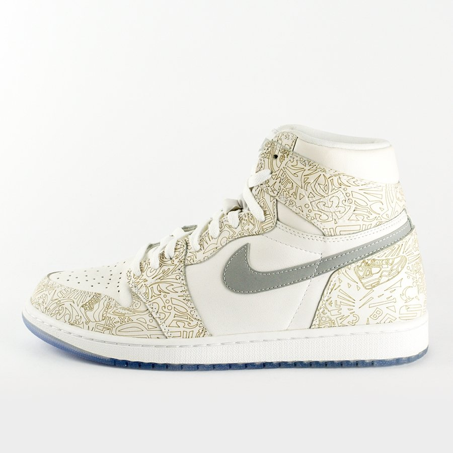 low priced f4dfa 95a3e Air Jordan 1 Banned Retro Laser 30TH ANNIVERSARY (705289-100) Click to zoom  ...