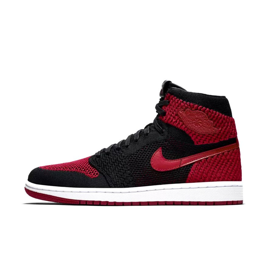 00b6cf9ea Air Jordan 1 Retro High Flyknit red (919704-001) Click to zoom ...
