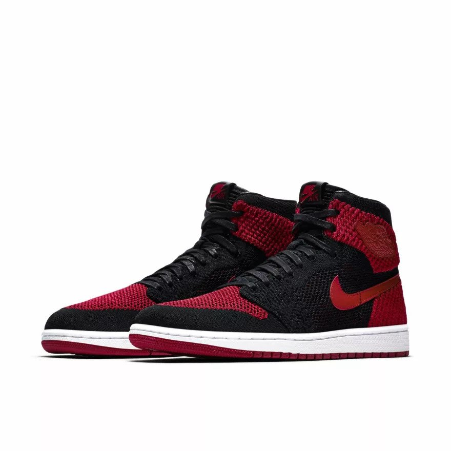 brand new 6e6d2 ff3a9 ... Air Jordan 1 Retro High Flyknit red (919704-001) Click to zoom ...