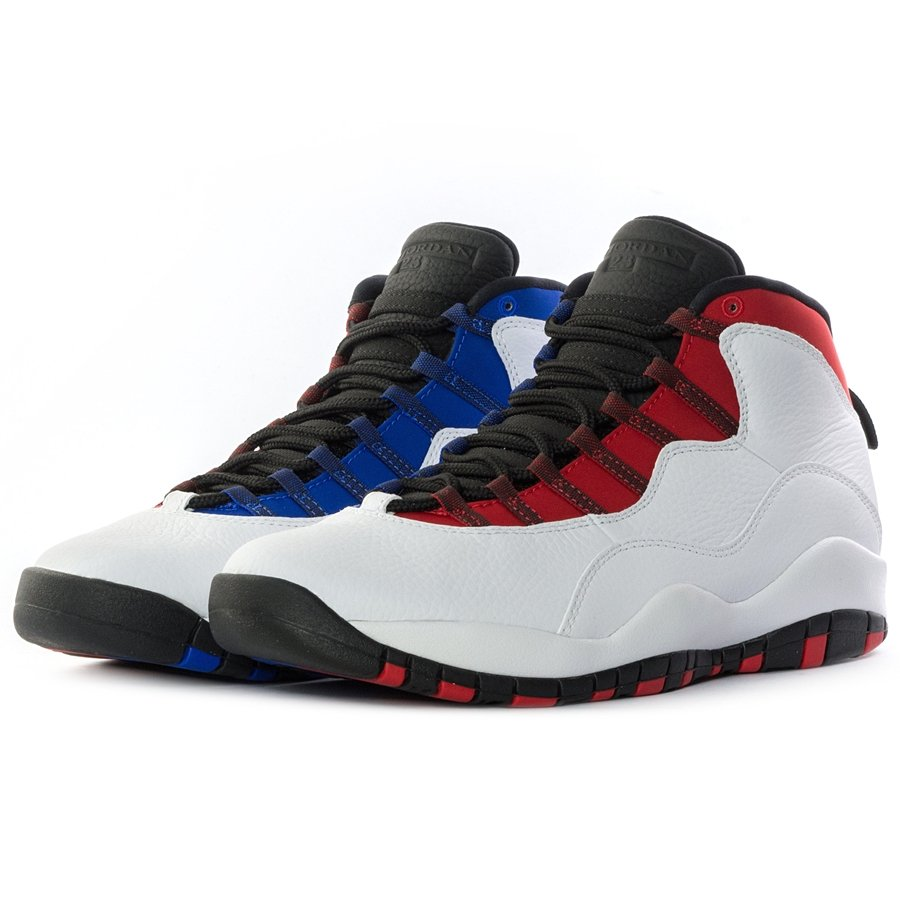 wholesale dealer 9ee78 a2aac Air Jordan 10 Retro white / red / royal blue (310805-160)