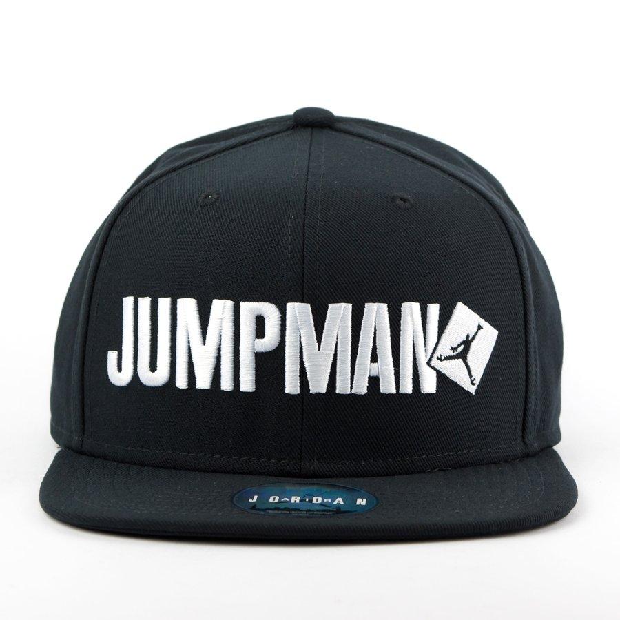 e4b3a1b138843 Air Jordan snapback Jumpman Script black (789507-010)