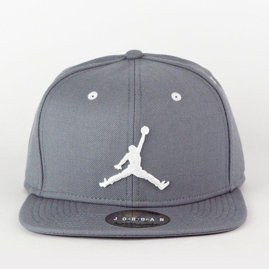 Air Jordan snapback True Jumpman grey (619360-067) TM  b265a9678c6