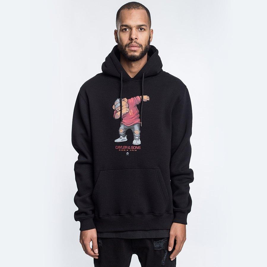 Cayler and Sons sweatshirt WL Dabbin' Crew Hoody black ...