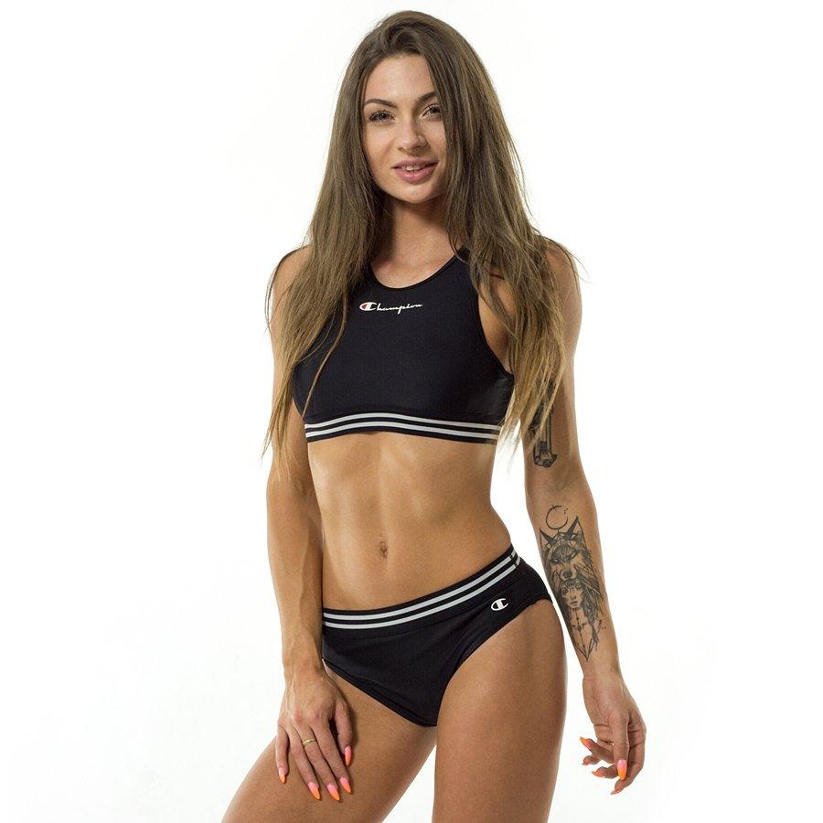 a7a4e97b75 Champion Logo Print Bikini black Black