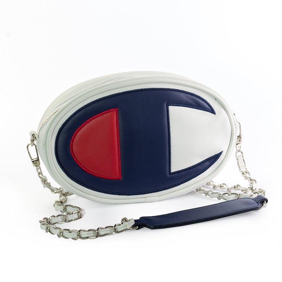Champion Mini Shoulder Logo Bag White 804409f18ww001