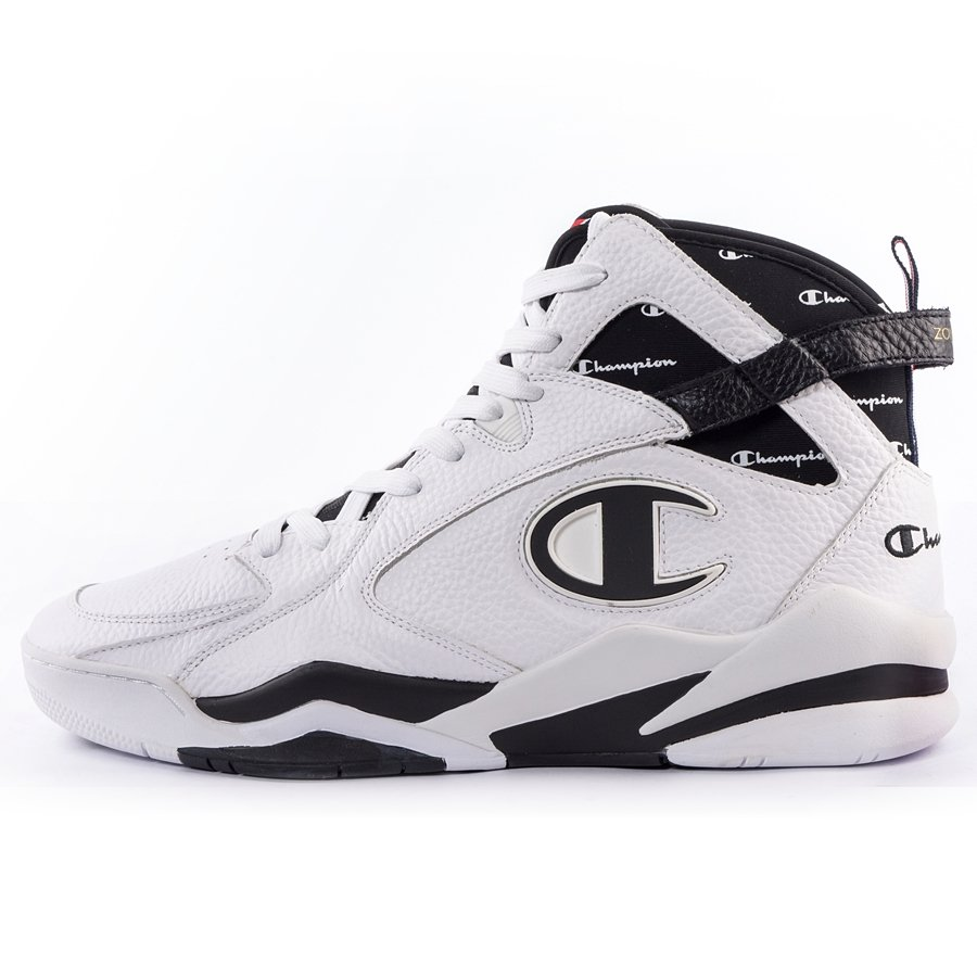 a93068415a871 Champion Zone 93 High Leather black (S20533-WW001) White