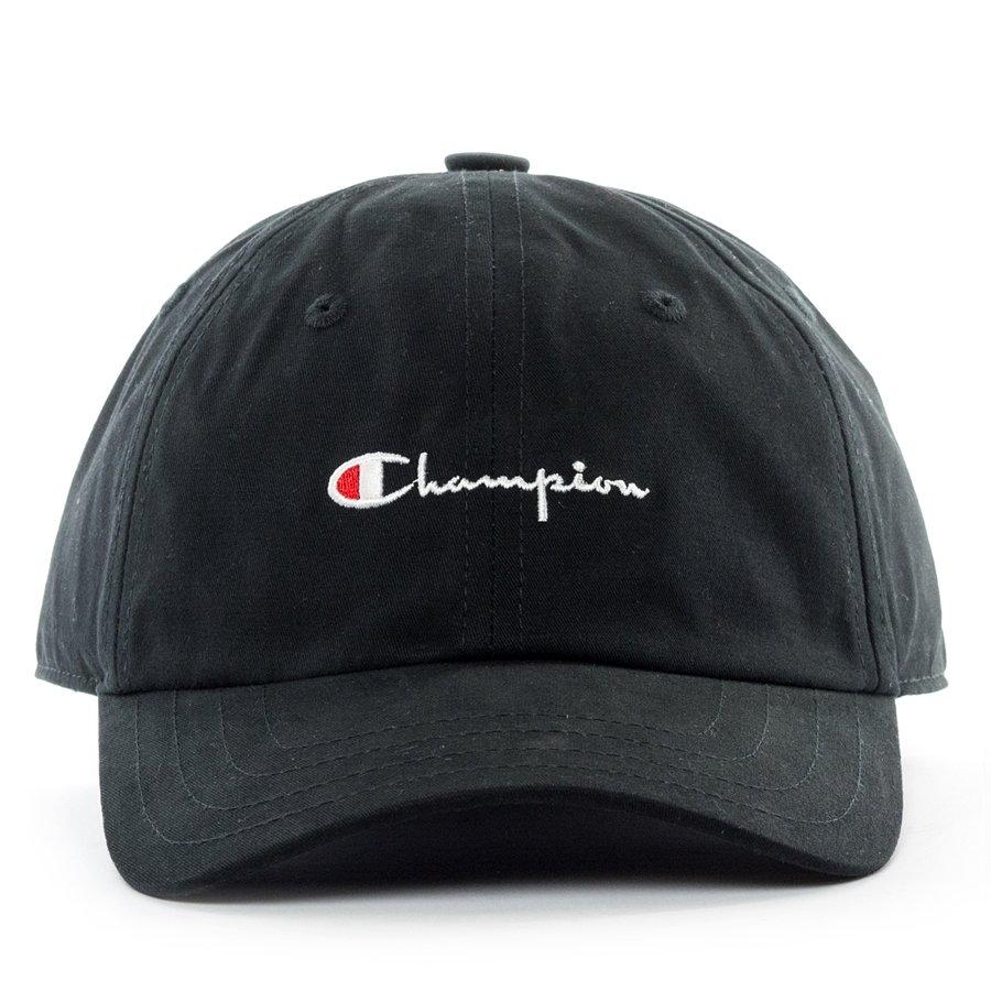 68c33c0fe39d2 Champion dad cap Reverse Weave Baseball Logo black Click to zoom ...