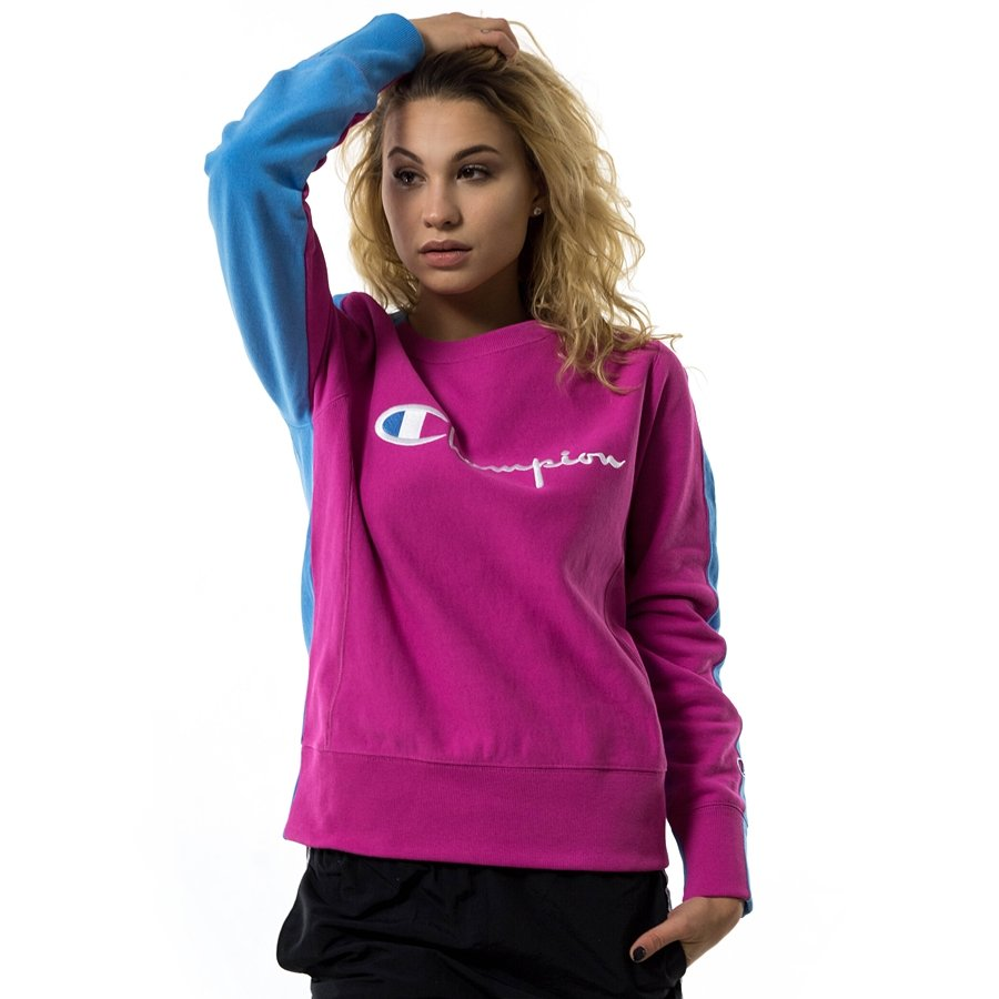 Champion sweatshirt crewneck Reverse Weave Front Logo multicolor ... c2a3da0b6a61